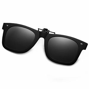 d28398118e5661 Amazon.com  WELUK Polarized Clip On Flip Ups Sunglasses TR90 Frame ...