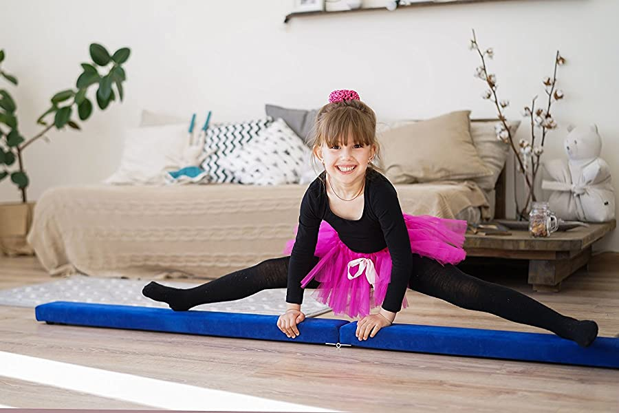 : Powerfly 7 Feet / 8 Feet Gymnastics Foam Balance Beam - Gymnastics