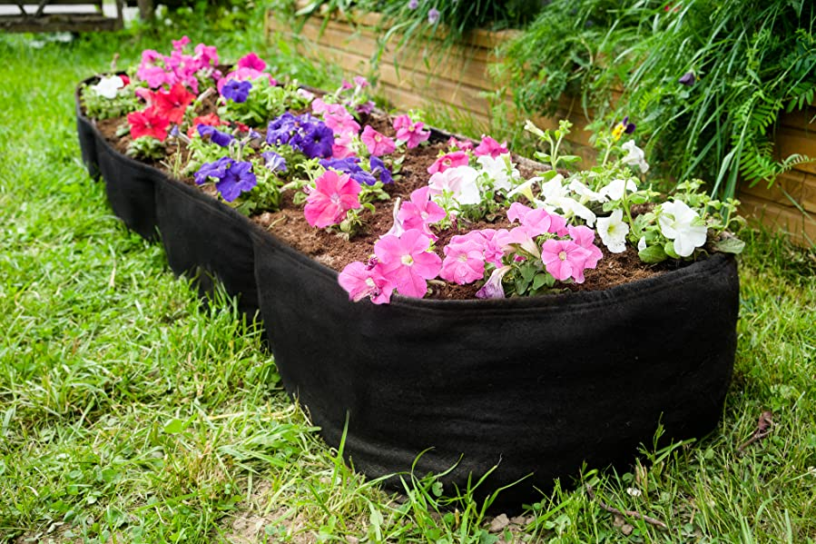 The Kenley Fabric Garden Bed Lets You Grow Flowers Herbs Or Veggies Such As  Cucumbers Tomatoes Or Squash In Any Sunny Spot Choose A Corner Of Your Deck