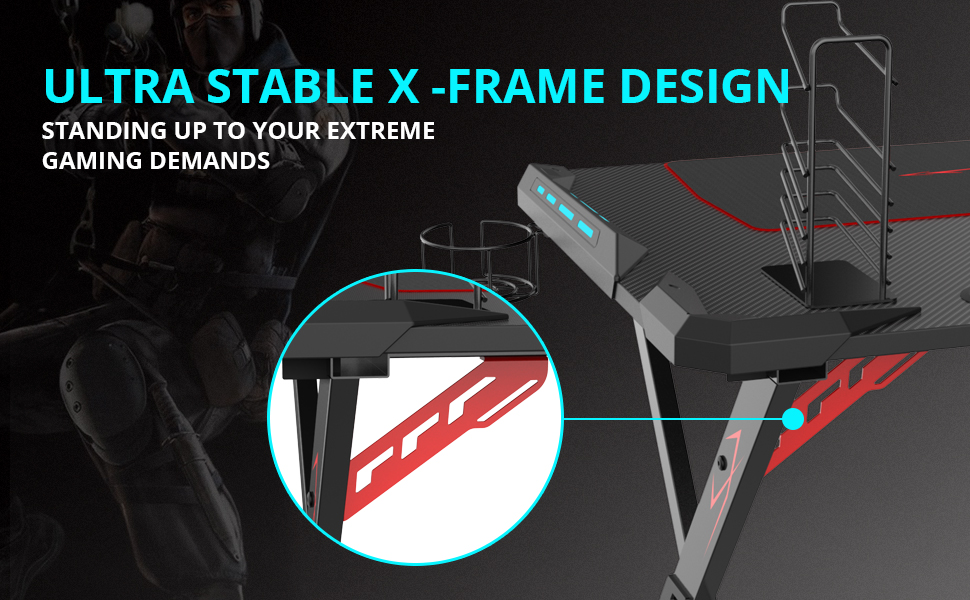 ROCK SOLID X-FRAME DESIGN