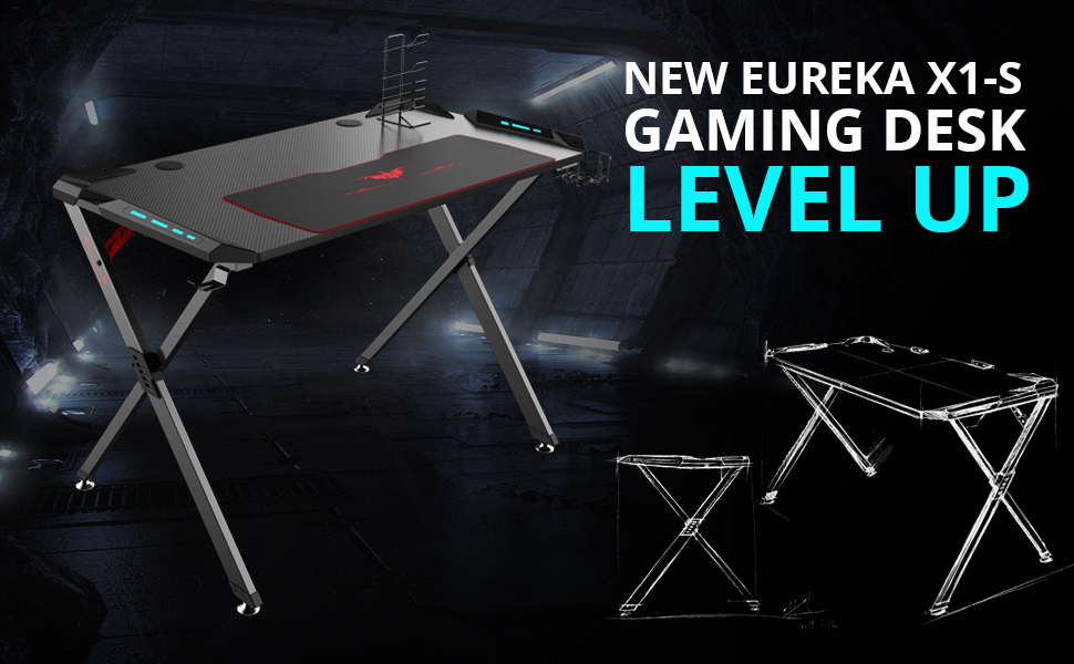 Eureka X1-S Gaming Desk
