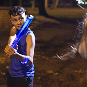 30b8b4306c43 Amazon.com  Glow Battle  A Light-Up Sword Game for Groups with 10 ...