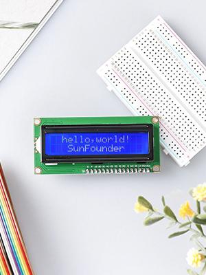 Amazon com: SunFounder IIC I2C TWI 1602 Serial LCD Module Display