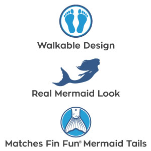 Amazon.com: Fin Fun Toddler Mermaid Tail Costume for