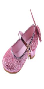 d285a096cc04 YIBLBOX Girls Glitter Low Heels Bridesmaids Princess Party Dress Shoes · YIBLBOX  Glitter Toddler Kids Girls Ballet Flats · Girls Bow Low Heel Party Wedding  ...