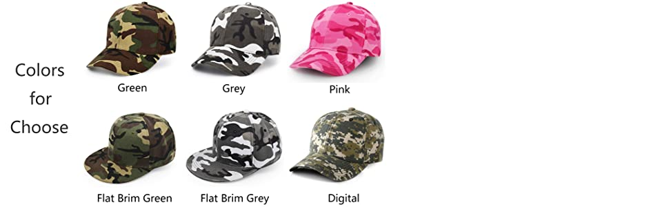 Baseball Cap USA US Flag Army Military Hunting Tactical Hiking Camo LICENSED Hat Hats