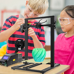 Teaching,children are curious ahout the 3d printer diy kit