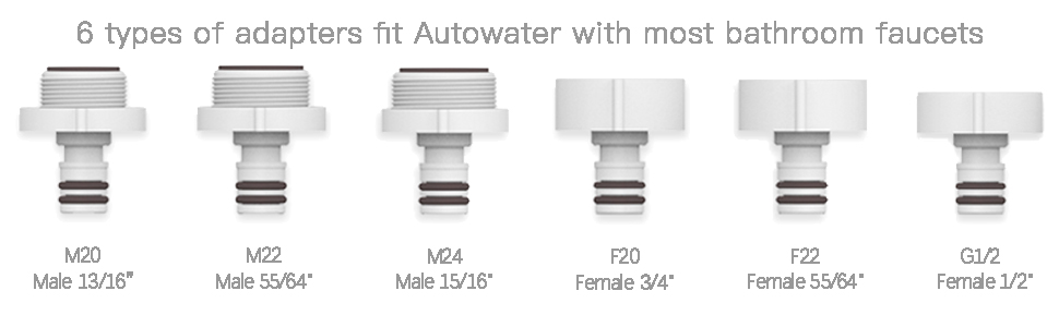 Techo Autowater B Automatic Touchless Bathroom Faucet