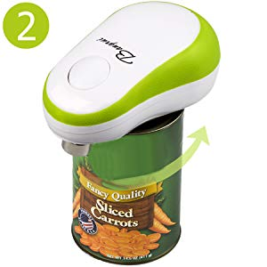 Following just three steps, users will master the usage of Bangrui electric can opener.