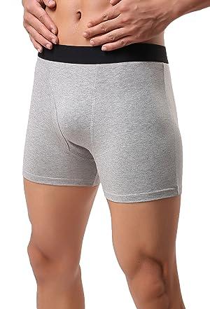 bd81209d183e Avidlove Men Underwear Cotton Stretch Boxer Brief Double Crotch 3-Pack