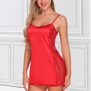 red night skirt