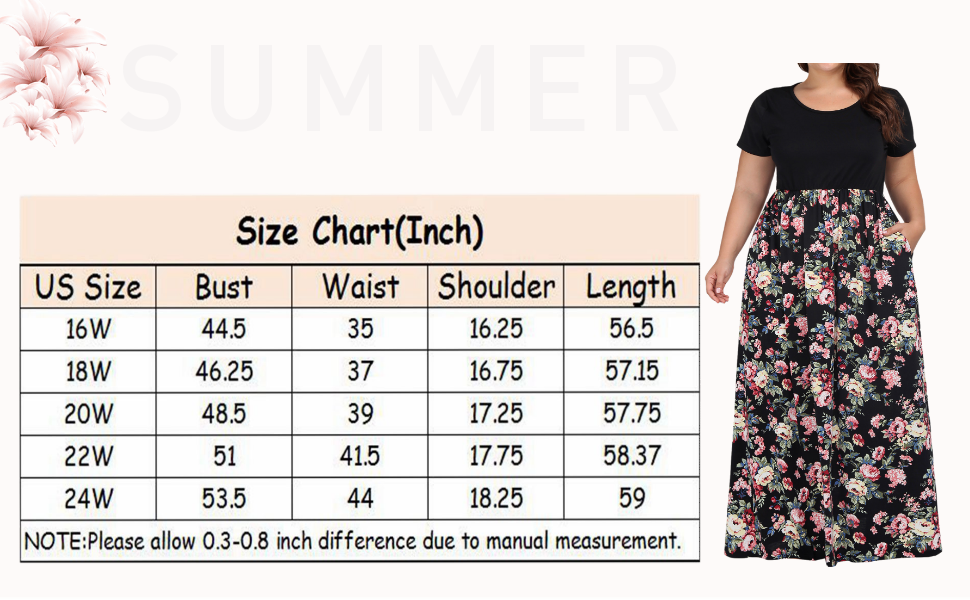 plus size maxi dresses with pockets