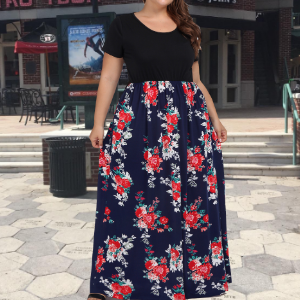 plus size maxi dresses for women casual