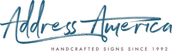 Address America Handcrafted Signs Since 1992