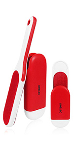 pet hair remover red