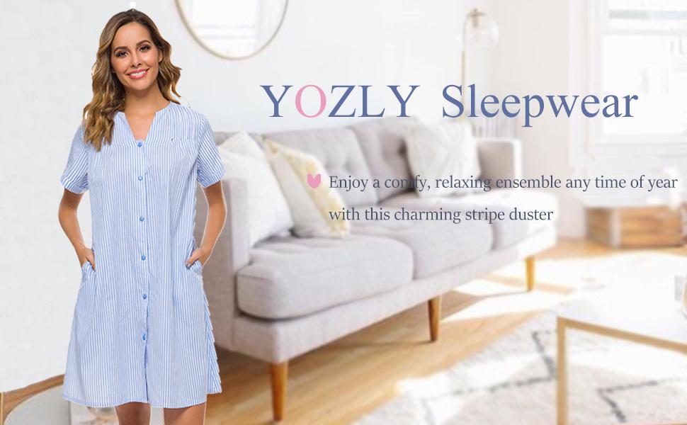 womens summer housecoat
