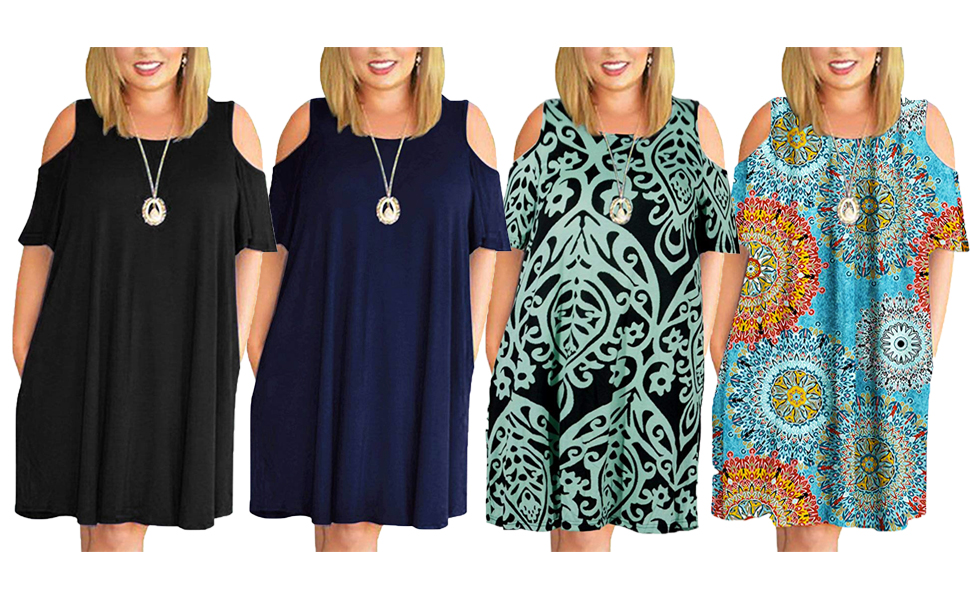 plus size dresses for women with pockets