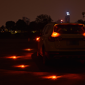 Slimk Road Flares Safety Flares Beacon Flashing Disc