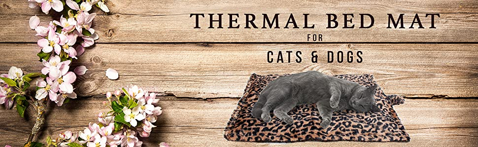 thermal bed mat for dogs and cats