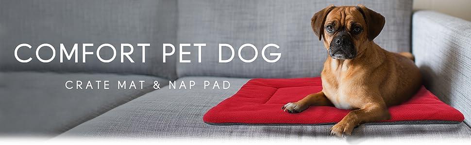comfort pet dog crate mat and nap pad