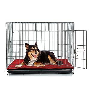Dog crate mat nap pad