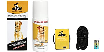 battery, manuel, citronella refill, collar
