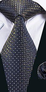 blue tie pocket square