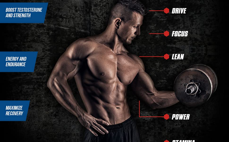 Amazon Com Max Strength Testosterone Booster Powerful Ingredients