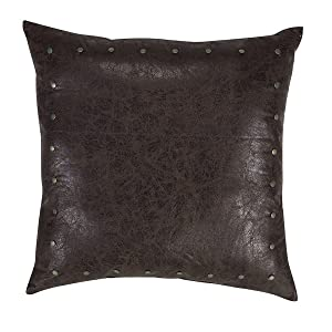 Leather Cushion two view