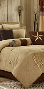 Laredo Coffee Comforter Set