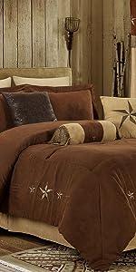 Laredo Brown Comforter Set