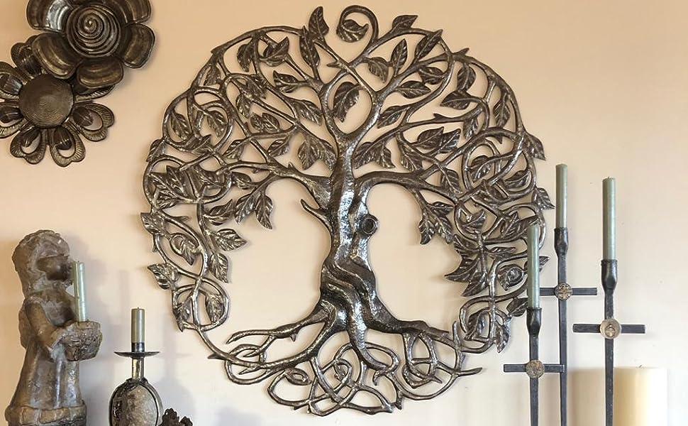 Amazon Com Large Celtic Tree Of Life Decorative Artwork