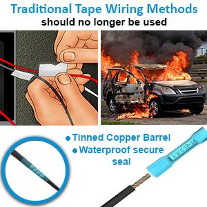waterproof wire connectors
