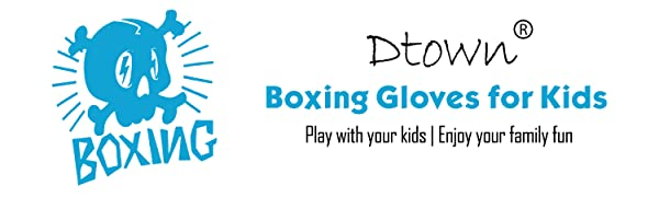 Dtown Boxing gloves for kids