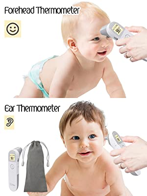ear and forehead thermometer thermometers for baby fever newborn babies adult temperature infrared