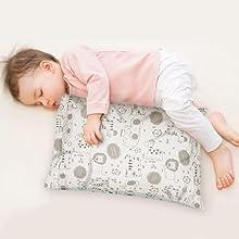 toddler pillow pillows pillowcase for sleeping travel nap nursery cases organic cotton soft 13X18