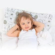 toddler pillow pillows pillowcase for sleeping travel nap nursery cases organic cotton soft sleep