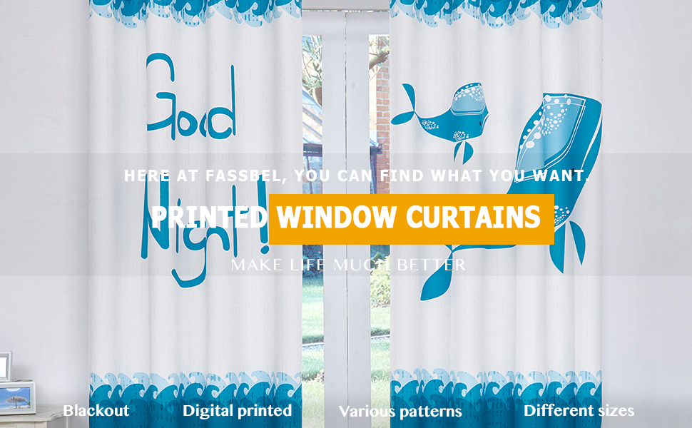 Fassbel Printed Curtains