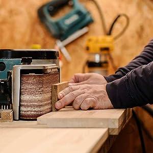 Wood Watch BEWELL Natural Handmade 42mm Wooden Grain Quartz Wrist Watches for Men W109A