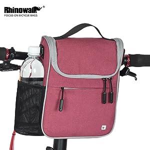 Rhinowalk handlebar bike bag