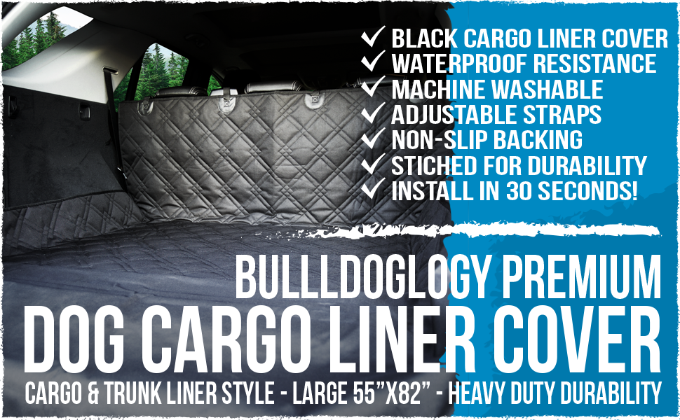 Large Cargo Liner & Trunk Cover