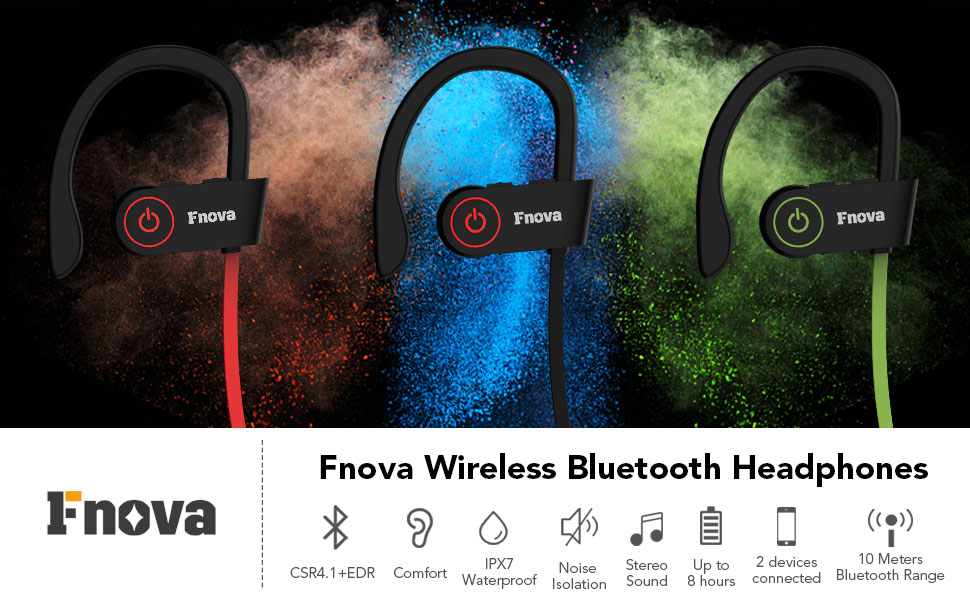 Why Fnova Wireless Sports Bluetooth Headphones Is The Better Choice?