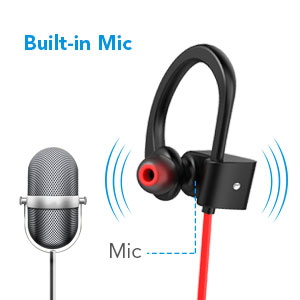 Earbuds mic hooks - earbuds with microphone women