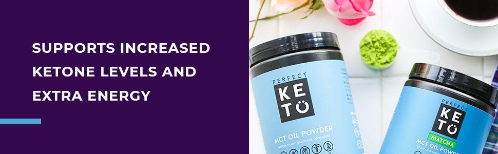 supports increased ketone levels and extra energy