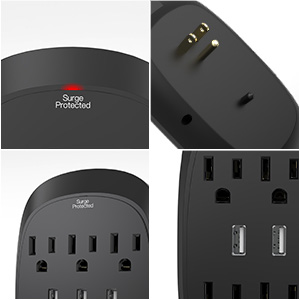 multi outlet with usb