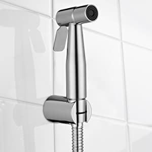 This Handheld Bidet Sprayer Set For Toilet Comes With All Accessories  Included For Standard Installation, Meanwhile, We Provide Both Hook And  Bracket, ...