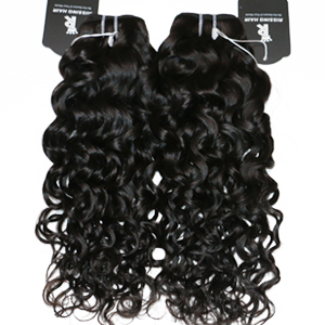 2 bundles of water wave hair