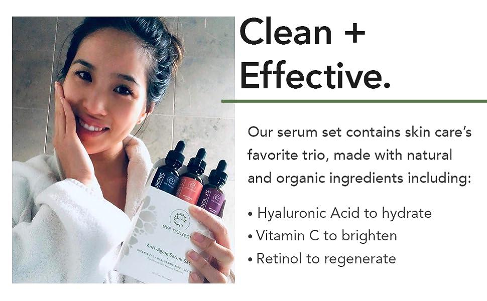 eve hansen anti aging serum for face serum for oily skin face moisturizer dark spot remover for face