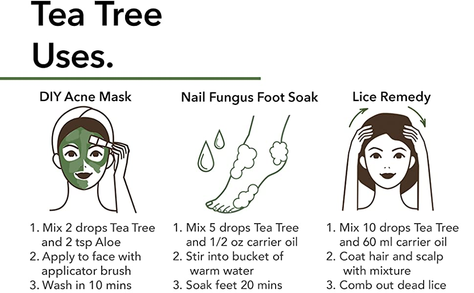 tea tree oil for hair aromatherapy essential oils
