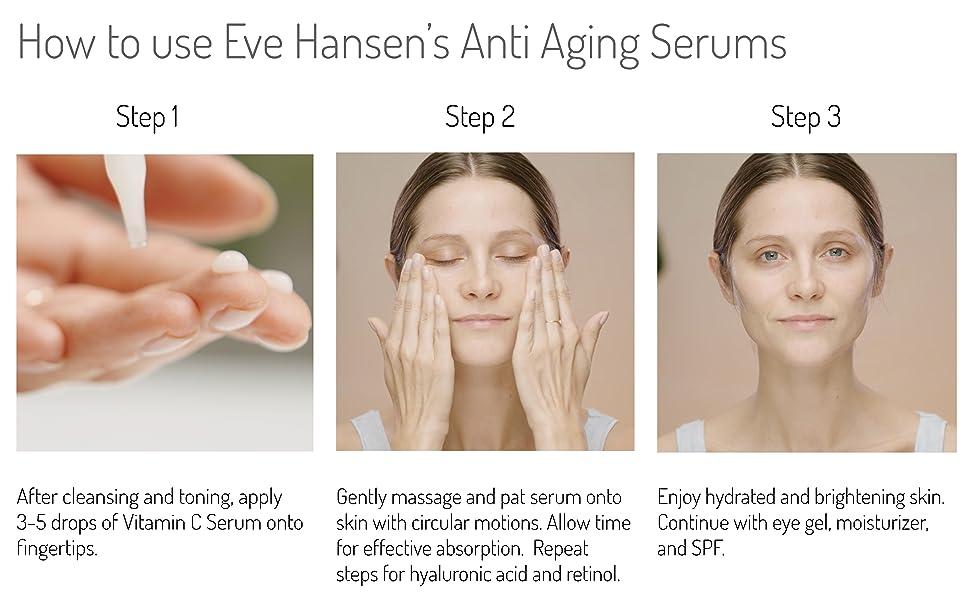anti aging skin care anti aging serum anti-aging ageing hyaluronic acid serum vit c serum retinol